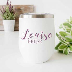 Bride_Name_wine_Tumbler