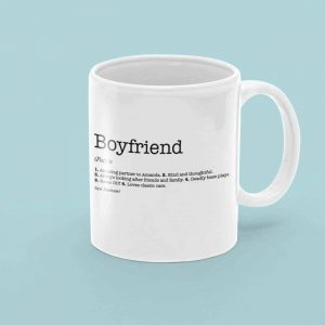 Boyfriend Dictionary Definition Mug