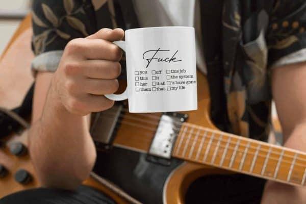 Fuck off Mug