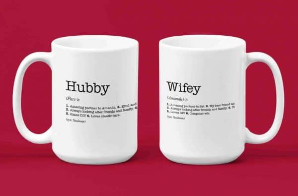 Husband and Wife Mug Set