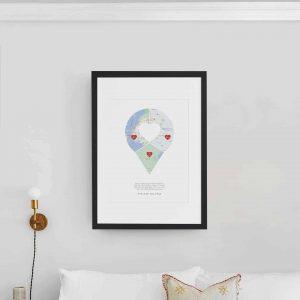 Map Pin Virtual Download Artwork