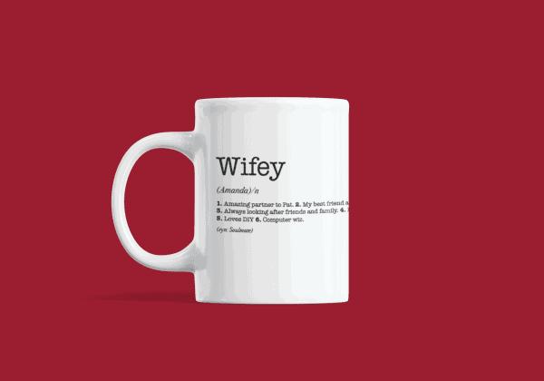 Wife Dictionary Definition Mug