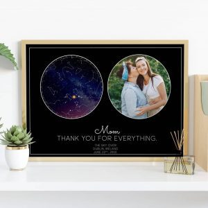 Mom Star Map Print