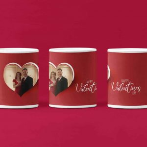 Valentine Heart Photo Mug