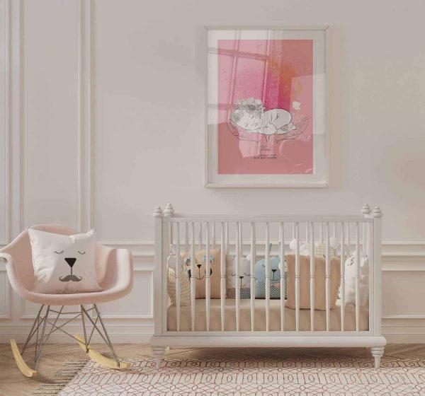 Baby Girl Star Map
