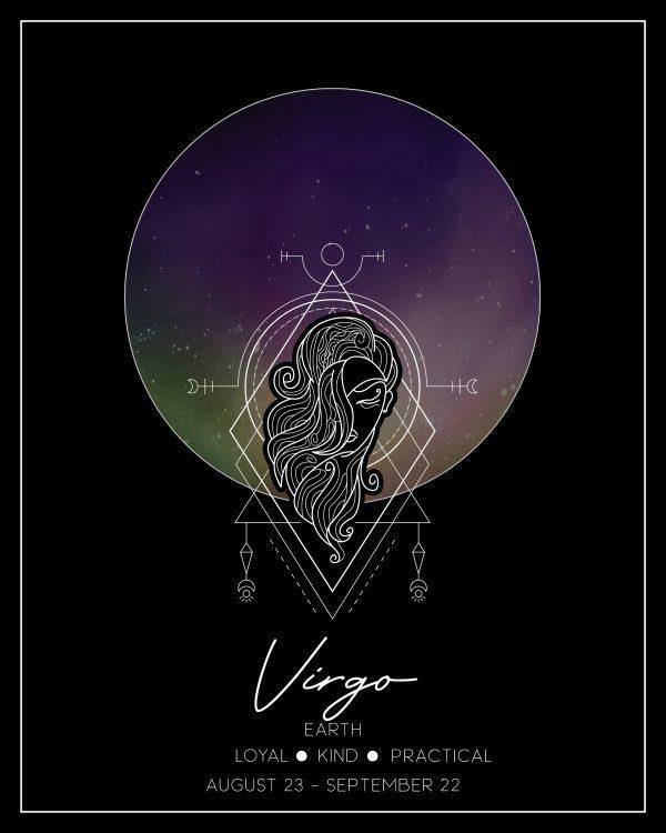 Virgo Zodiac Print
